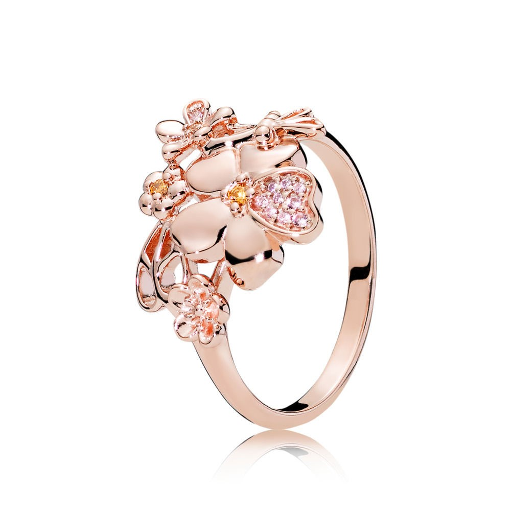 Vente Bijoux Pandora Rose Wildflower Prairie Bague Pandora Magasin