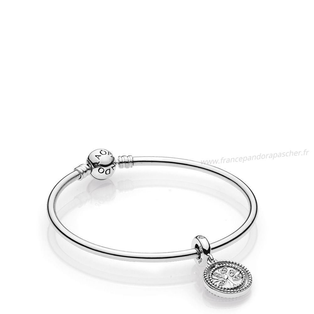 Vente Bijoux Family Tree Bangle Gift Set Pandora Magasin