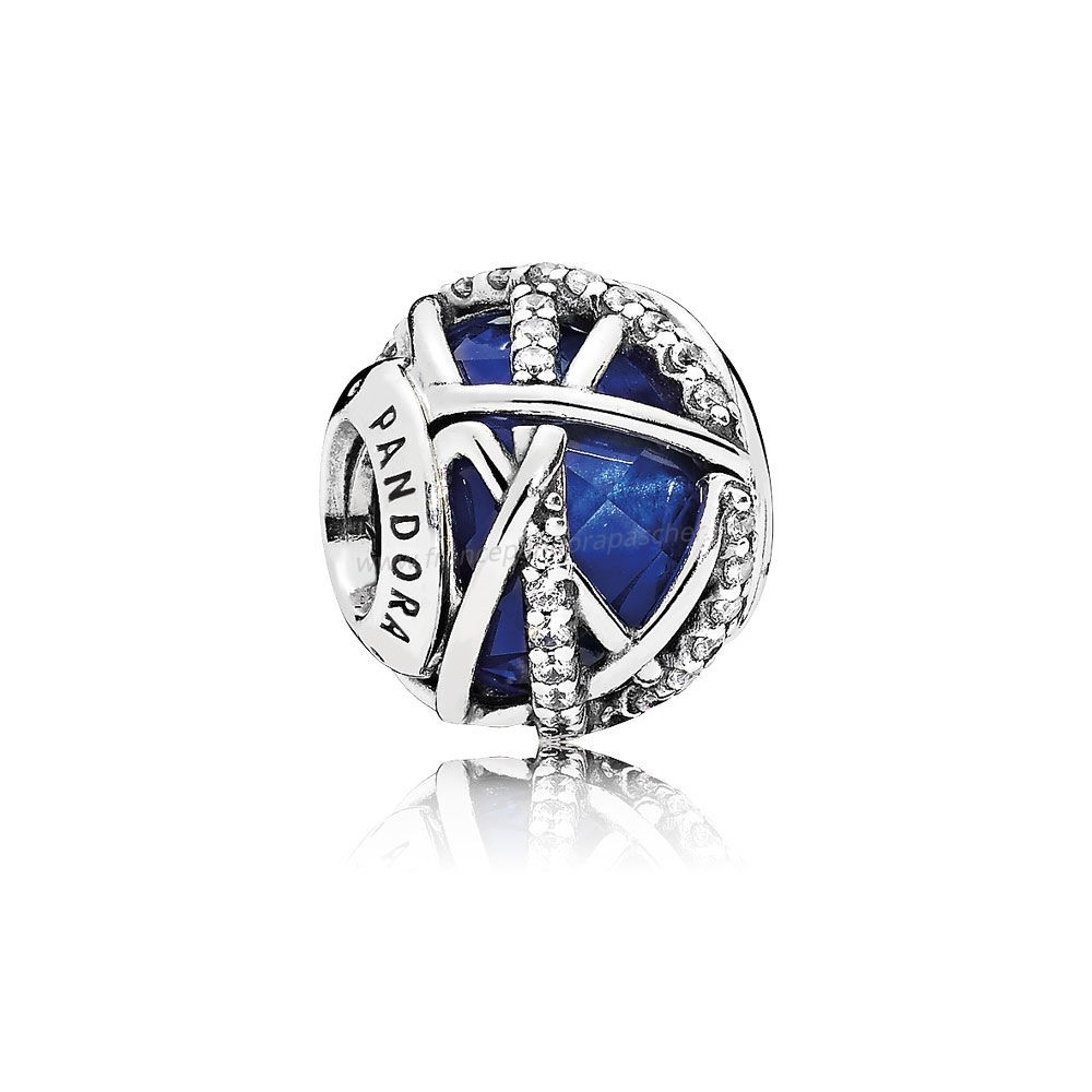 Vente Bijoux Collection Hiver Galaxy Royal Blue Crystal Clear Cz Pandora Magasin