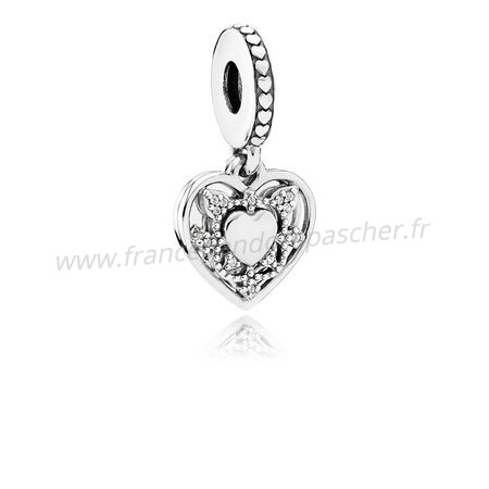 Vente Bijoux Danglees Ma Femme Toujours Dangle Clear Cz Pandora Magasin
