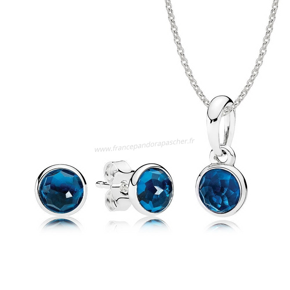 Vente Bijoux December Droplets Ensemble Cadeau Pandora Magasin