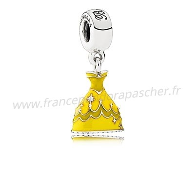 Vente Bijoux Disney Charms Belle Robe Mixed Email Pandora Magasin