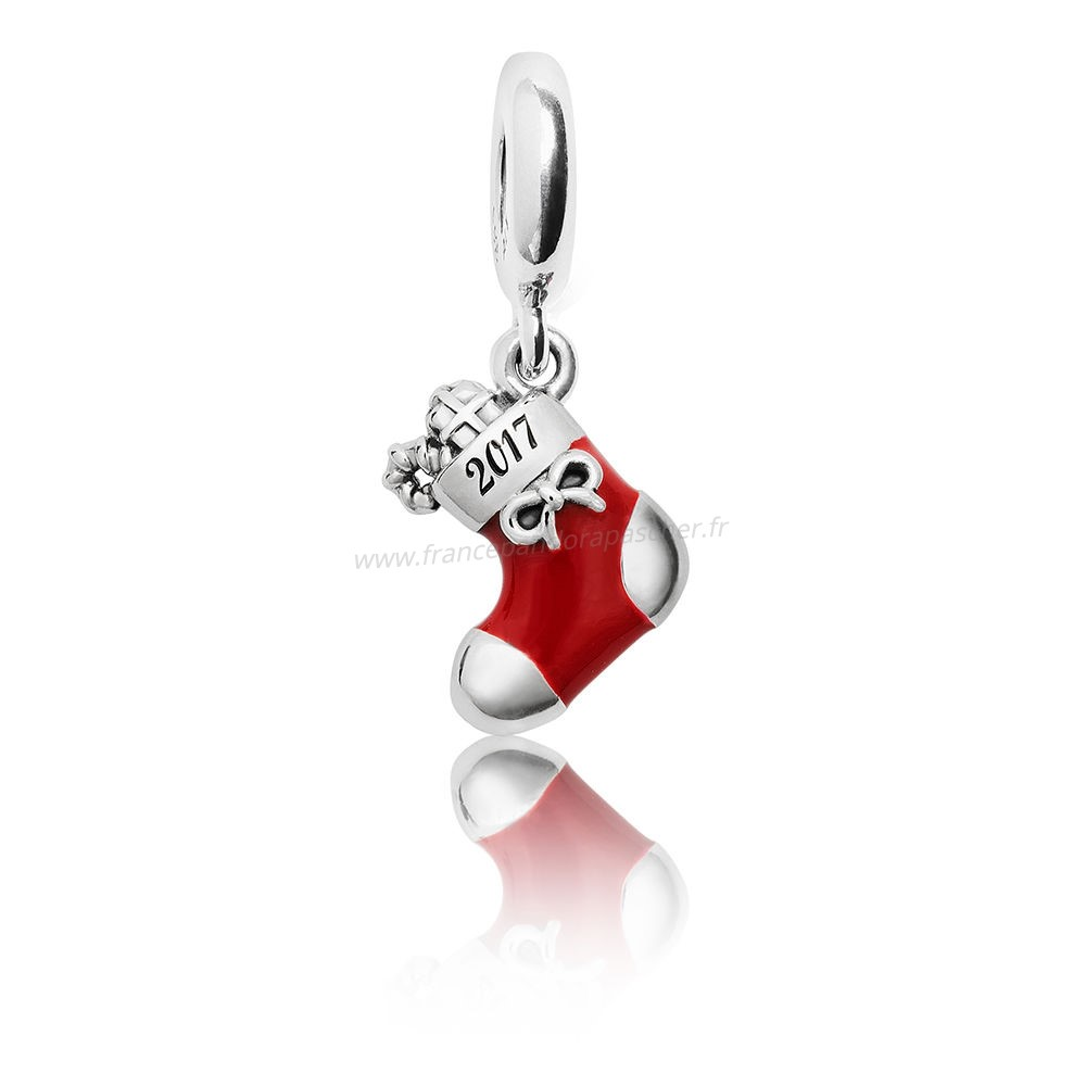 Vente Bijoux Hiver Collection 2017 Grave Noel Stocking Limited Edition Pandora Magasin