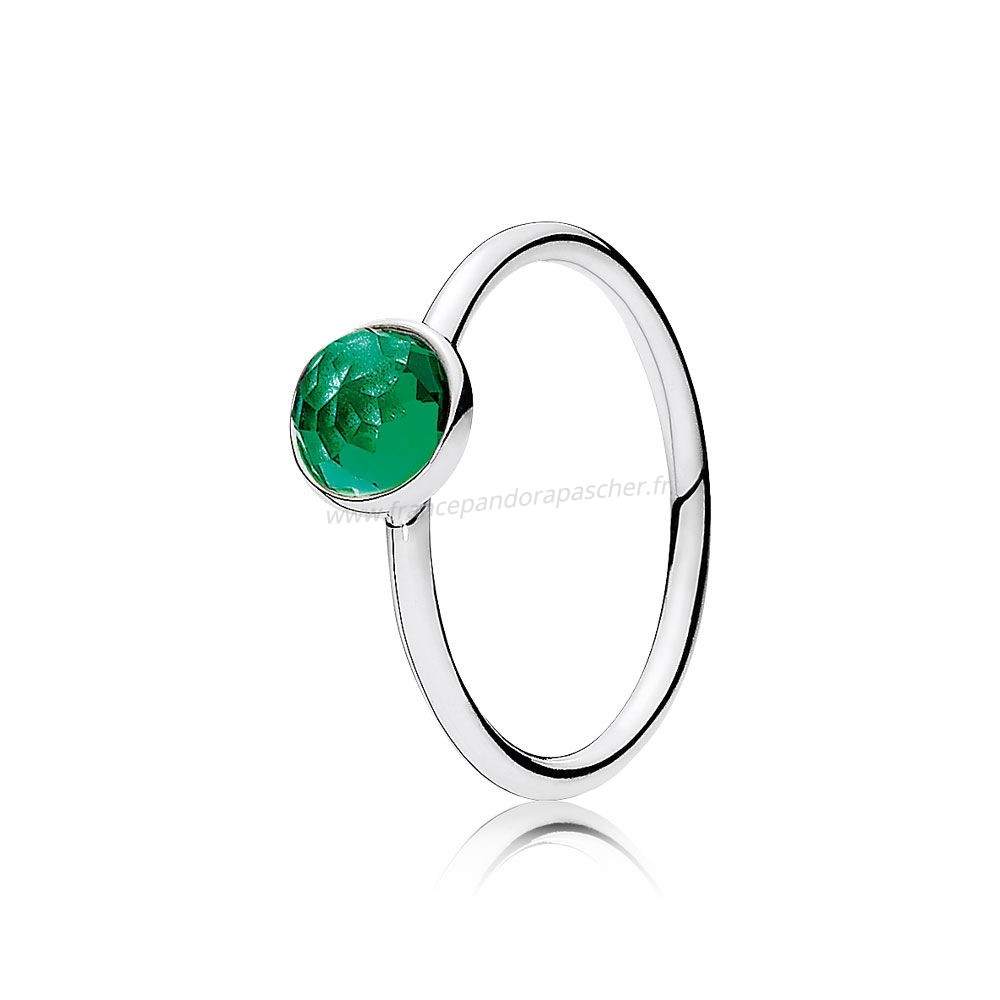 Vente Bijoux May Gouttelette Royal Vert Crystal Pandora Magasin