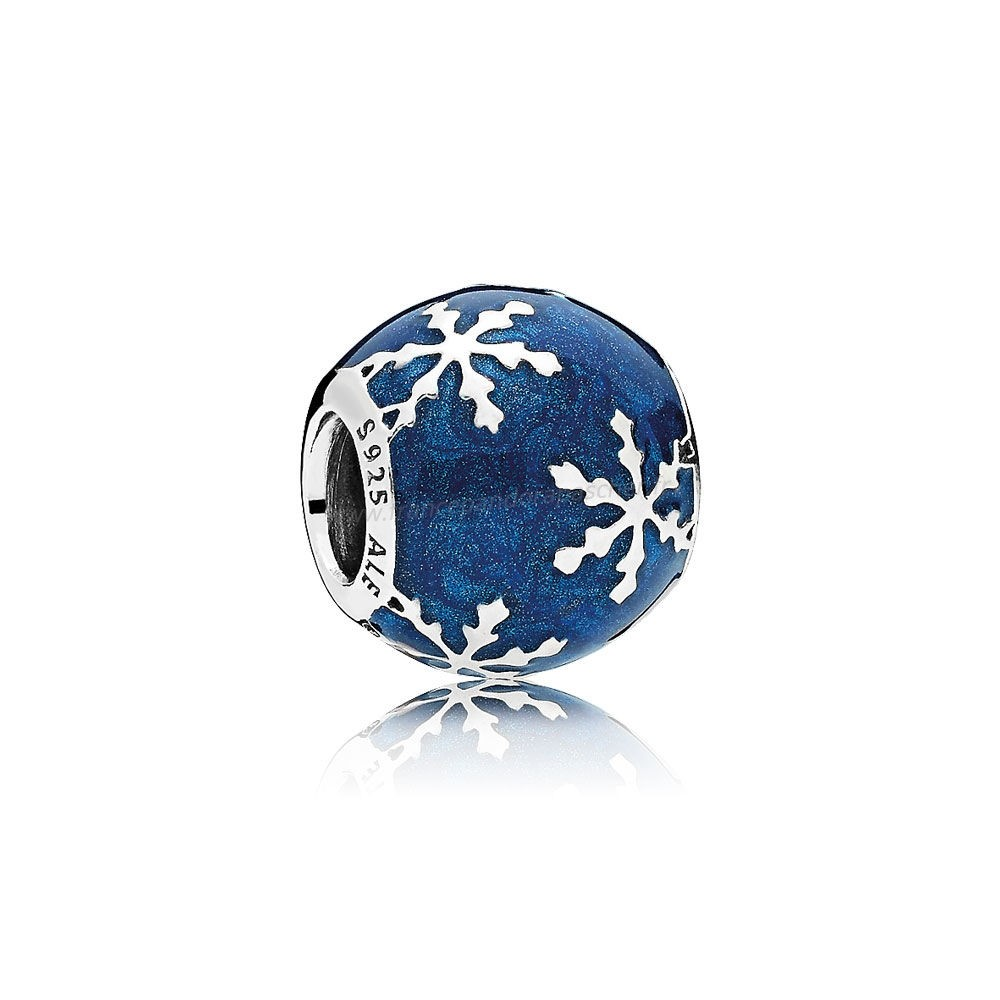 Vente Bijoux Nature Charms Charme Delice Midnight Blue Enamel Pandora Magasin