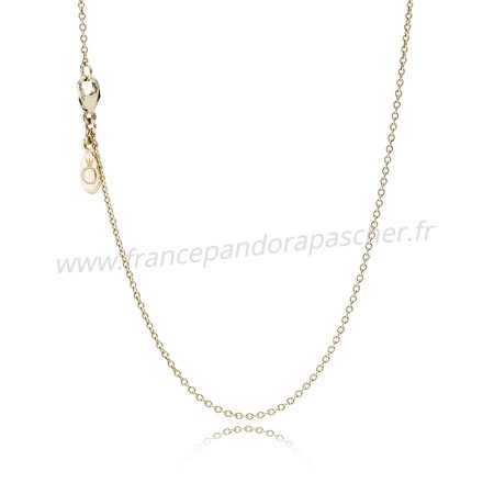 Vente Bijoux Pandora Chaines Collier Chaine 14K Or Pandora Magasin
