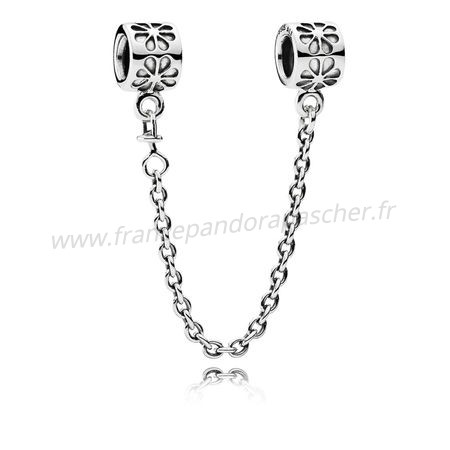 Vente Bijoux Pandora Chaines De Securite Daisy Safety Chain Pandora Magasin