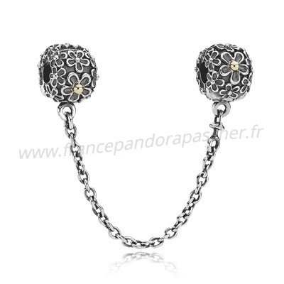 Vente Bijoux Pandora Chaines De Securite Pandora 925 Daisy Safety Pandora Magasin