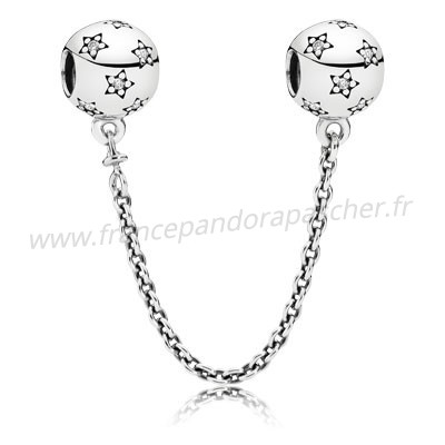 Vente Bijoux Pandora Chaines De Securite Pandora 925 Etoile Safety Chain Pandora Magasin
