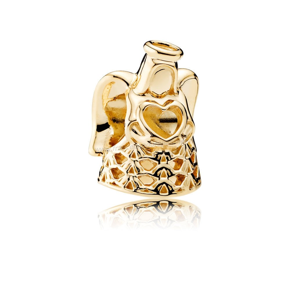 Vente Bijoux Pandora Collections Ange De Grace Charme 14K Or Pandora Magasin