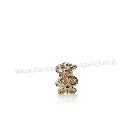Vente Bijoux Pandora Collections Trinity Fleurs Spacer 14K Or Pandora Magasin