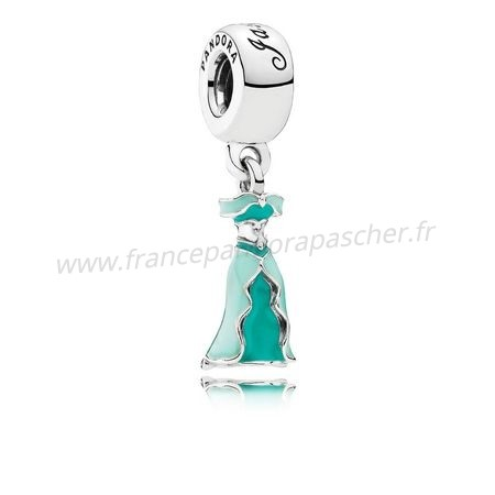 Vente Bijoux Pandora Disney Breloques Jasmine'S Dangle Charm Mixed Enamel Pandora Magasin