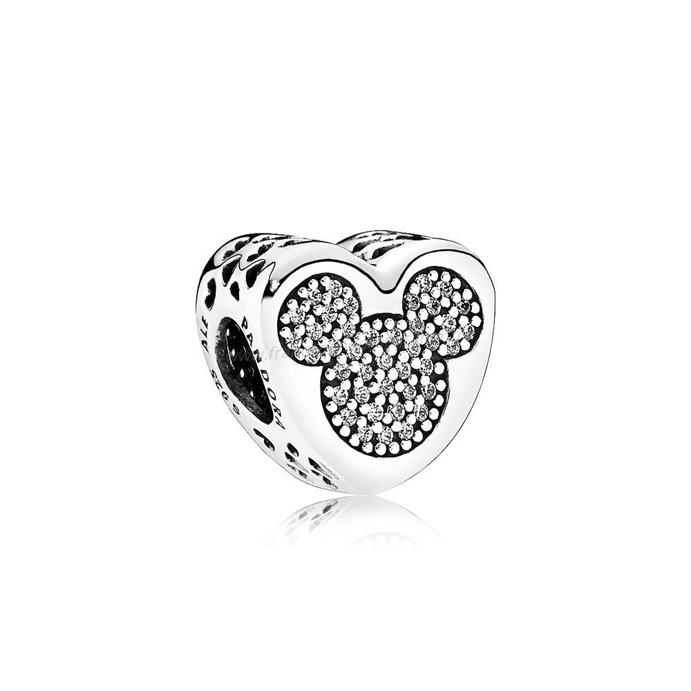 Vente Bijoux Pandora Disney Breloques Mickey Minnie True Amour Pandora Magasin