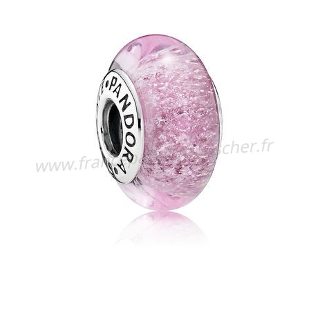 Vente Bijoux Pandora Disney Collection Disney Rapunzel'S Signeature Color Charm Murano Verre Pandora Magasin
