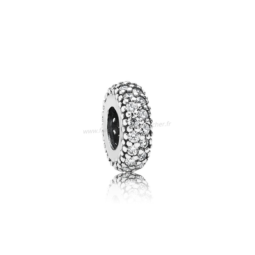 Vente Bijoux Pandora Paillettes Paves Charms Inspiration Dans Spacer Clear Cz Pandora Magasin