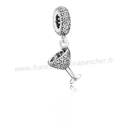 Vente Bijoux Pandora Passions Charms Chic Charme Nuit Dangle Charm Clear Cz Pandora Magasin