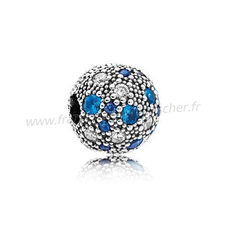 Vente Bijoux Pandora Toucher De Couleur Charms Cosmic Etoiles Multi Coloured Crystals Clear Cz Pandora Magasin
