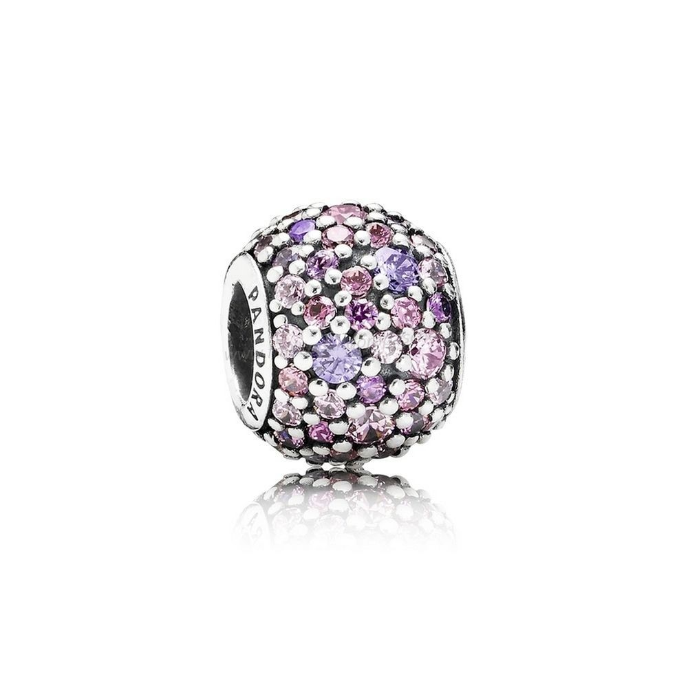 Vente Bijoux Pandora Toucher De Couleur Charms Pave Lumieres Charme Multi Colour Cz Pandora Magasin