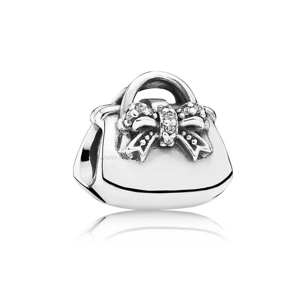 Vente Bijoux Passions Charms Chic Charmant Sac A Main Clear Cz Pandora Magasin