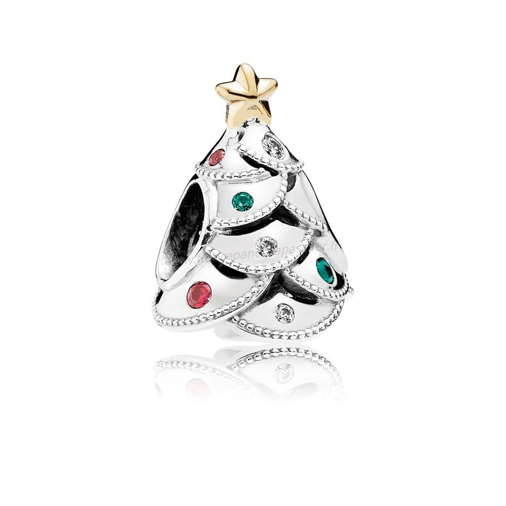 Vente Bijoux Vacances Charms Noel Fete Arbre Multi Colour Cz Pandora Magasin